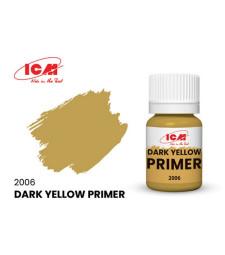 Primer Dark Yellow, acrylic, flatt (17 ml) - жълт грунд, мат