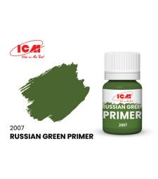 Primer Russian Green, acrylic, flatt (17 ml) - зелен грунд, мат