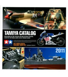 Каталог на TAMIYA за 2011