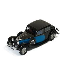 Bugatti Type 57 Galibier 1935 - Black and Blue