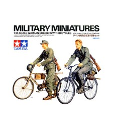 1:35 Германски войници с велосипеди - 2 фигури