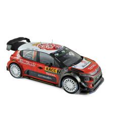 Citroen C3 WRC N°7 - Winner Espagne 2017 - K.Meeke / P.Nagle
