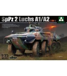 1:35 Бронирана машина на немската армия  SpPz 2 Luchs A1/A2  2 in 1