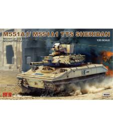 1:35 Американски танк М551А1/ А1ТТС Шеридан (M551A1/ A1TTS SHERIDAN)