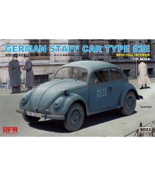 1:35 Германски военен автомобил тип 82Е (GERMAN STAFF CAR TYPE 82E)
