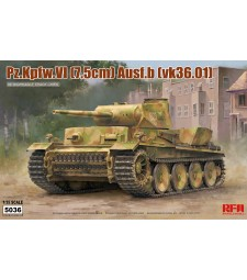 1:35 Германски танк PZ.KPFW.VI AUSF.B(VK36.01) с работещои вериги