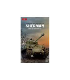 1:35 Американски танк M4A3 76W HVSS Sherman с пълен интериор
