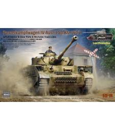 1:35 Германски танк Pz. Kpfw. IV Ausf. J късно производство с пълен интериор