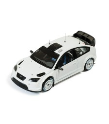 Ford Focus RS WRC08 2009 Rally Spec - White (2 set wheels & tyres)