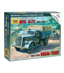 1:100 Германски камион Opel Blitz - сглобка без лепило