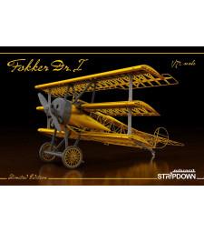 1:72 Германски изтребител Фокер Др.I (Fokker Dr.I STRIPDOWN)