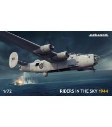 "1:72 Комлект ""Riders in the Sky 1944"" - британски бомбардировач Liberator GR Mk.V"