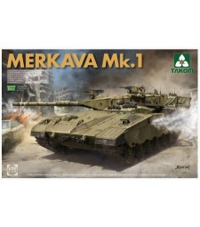 1:35 Израелски основен боен танк Меркава 1 (Israeli  Main Battle Tank Merkava 1)