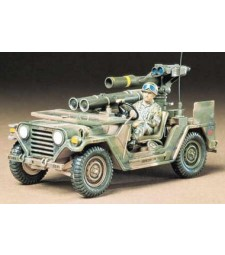 1:35 Автомобил с висока проходимост на САЩ M151A2 с противотанкови ракети TOW - 1 фигура