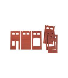 Стени, червени: 2410A, 2410B и 2410D