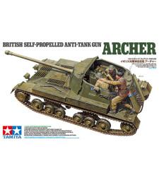 1:35 Британско самоходно противотанково оръдие Арчър (British Anti Tank Gun Archer - Self Propelled) - 3 фигури
