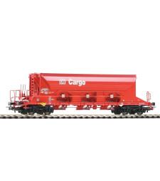 Товарен вагон 3-Bay Hopper Facns DB AG червен, епоха VI
