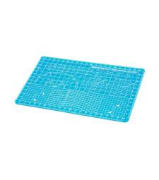 Подложка за рязане А (размер A5, полупрозрачна синя) - 150mm x 220mm, дебелина 1mm