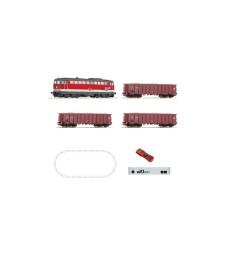 Дигитален стартов комплект товарен с дизелов локомотив серия 2043 и централа z21, OBB, епоха V