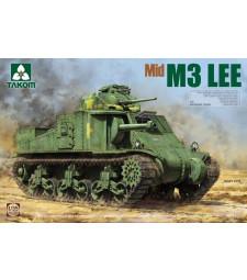 1:35 Американски среден танк М3 Лий, средна версия (US Medium Tank M3 Lee Mid)