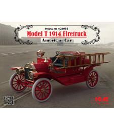 1:24 Американска пожарна кола Модел Т (Model T) 1914 (100% нови отливки)