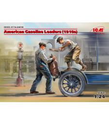 1:24 Америкаснки товарачи на безнин, 1910 - 2 фигури (100% нови отлички)