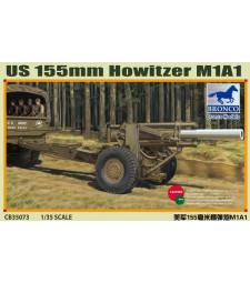 1:35 Американска гаубица M1A1 155 mm (Втората световна война)