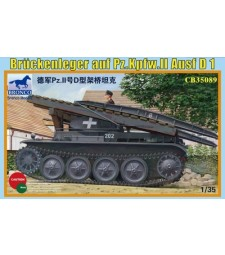 1:35 Германски понтонен мост Bruckenleger auf pz.Kpfw. II ausf D1
