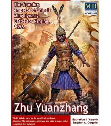1:24 Джу Юенджан. Императорът-основател на китайската династия Минг. Битка за Нанкин, 1356 - 1 фигура