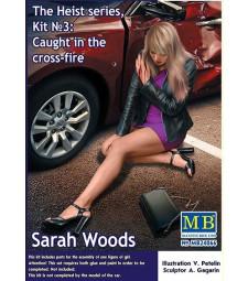 1:24 Серия Бягство, Комплект №3: Под кръстосан огън. Сара Уудс - 1 фигура