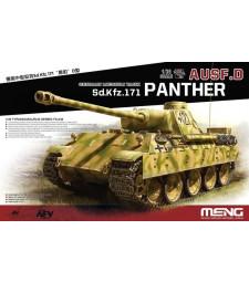 1:35 Германски среден танк Sonderkraftfahrzeug 171 Panther Ausf.D