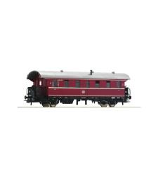 """Пътнически вагон 2-ра класа """"Donnerbüchse"""", DB, епоха III"""