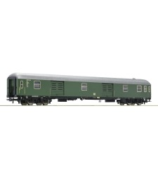 Express train luggage cart, type D4üm, the German Federal Railways, epoch III