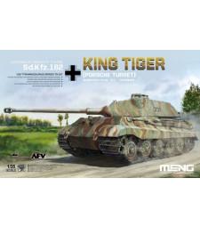 1:35 Германски тежък танк Sonderkraftfahrzeug 182 King Tiger (с оръдеен купол Porsche Turret)