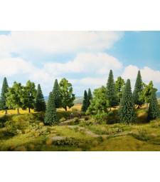 Смесена гора (0, H0, TT) 6 броя, 14-18 cm