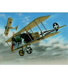 "1:48 Германски самолет Fokker D.II ""Black & White Tails"""