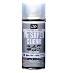 B-516 Лак на спрей, полугланц Mr. Super Clear Semi-Gloss Spray (170 ml)