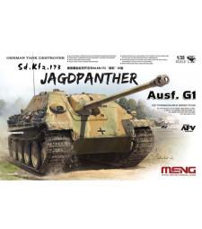 1:35 Германски танков разрушител Sonderkraftfahrzeug 173 Jagdpanther Ausf.G1