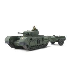 1:48 Британски танк Чърчил Mk.VII