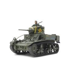 1:35 Американски танк М3 Стюарт, късно производство (M3 Stuart Late Production) - 1 фигура
