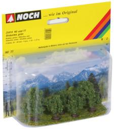 Зелени храсти - 5 бр. 3 - 4 cm