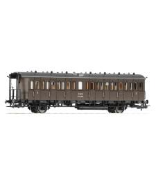 Пътнически вагон C3-4010 на CSD, епоха III