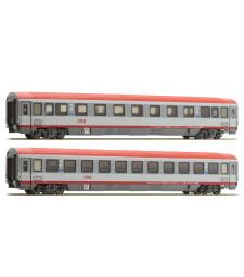 Сет от 2 пътнически вагона EC 84 на Австрийските Федерални Железници, VI