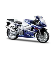 Suzuki GSX-R750, Blue/White