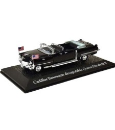 Cadillac convertible limousine Queen Elizabeth II, travel to Paris Dwight D. Eisenhower, 1959