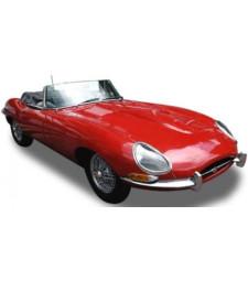 JAGUAR E Cabrio 1961 carmin red