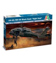 "1:48 Американски военен хеликоптер Сикорски УХ-60/МХ-60 ""Черен ястреб"" (Sikorsky UH-60/MH-60 BLACK HAWK)"