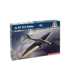 """1:48 Германски пикиращ бомбардировач Юнкерс Ю-87 Д-5 """"Щука"""" (Junkers Ju-87 D-5 STUKA)"""