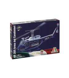 1:48 Хеликоптер AB 205 ARMA DEI CARABINIERI