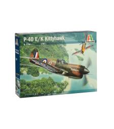 1:48 Американски изтребител П-40 Е/К КИТИХОУК P-40 E/K KITTYHAWK